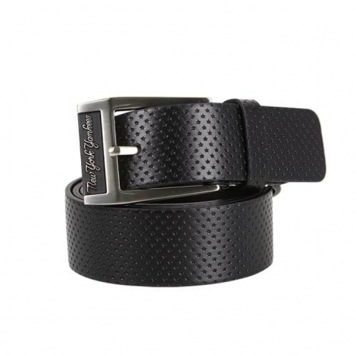 [MLB] New York Yankees Fashion Golf Belt (Black)